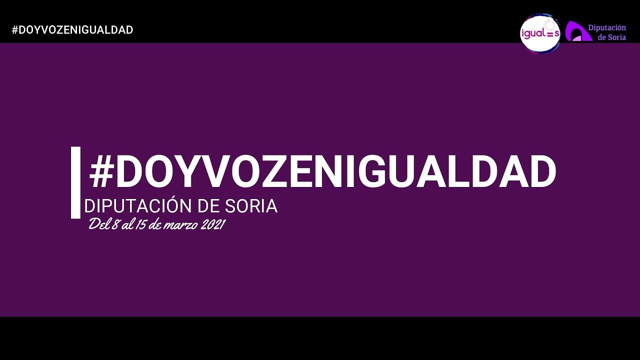 Diputación de Soria acoge una campaña de sensibilización y participación ciudadana en redes sociales para conmemorar el Día Internacional de la Mujer